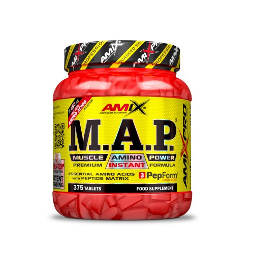 AMIX- M.A.P MUSCLE AMINO POWER 375 TABL