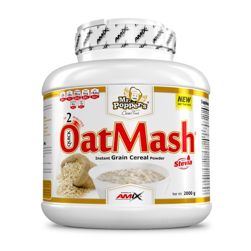 AMIX- OATMASH-AVENA 2 KG ( CHOCOLATE BLANCO)