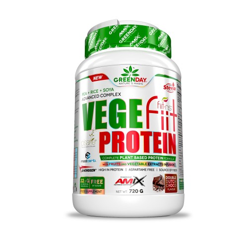 AMIX- VEGEFIIT PROTEIN 2 KG (DOBLE CHOCOLATE)