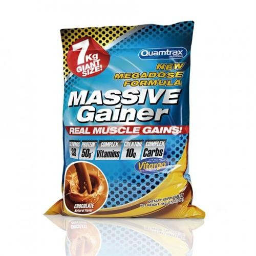 QTX- MASSIVE GAINER 7 KG ( CHOCOLATE BLANCO- FRESA )