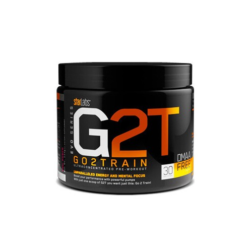 STR- G2T GO2 TRAIN XT 30 SERVICIOS ( ORANGE DELIGHT)