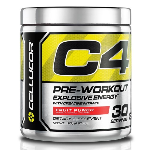 CELL- PRE WORK OUT C4 30 SERV RIPPED ( TROPICAL PUNCH)