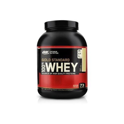 ON- 100 % WHEY GOLD 2 LBS ( VAINILLA ICE CREAM)