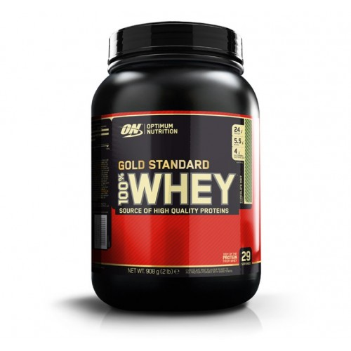ON- 100 % WHEY GOLD 2 LBS ( CHOCOLATE MENTA)