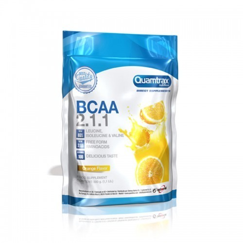 QTX DIRECT- BCAA 2:1:1 500 GR ( NARANJA)