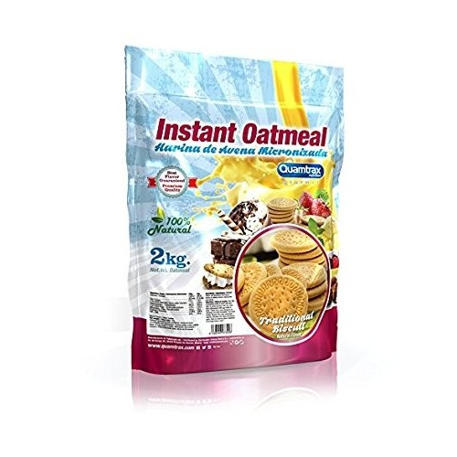 QTX- OATS MEAL 2 KG ( TRADITIONAL BISCUIT)