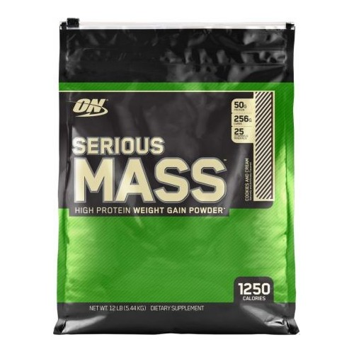 SERIOUS MASS 12 LBS SABOR COOKIES AND CREAM