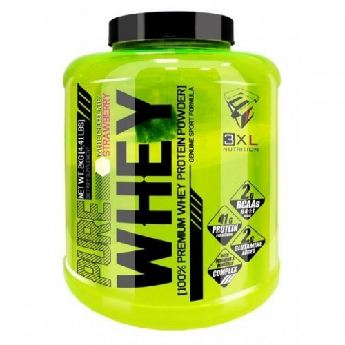 PURE WHEY 100% CONCENTRATE SABOR CHOCOLATE CON AVELLANAS
