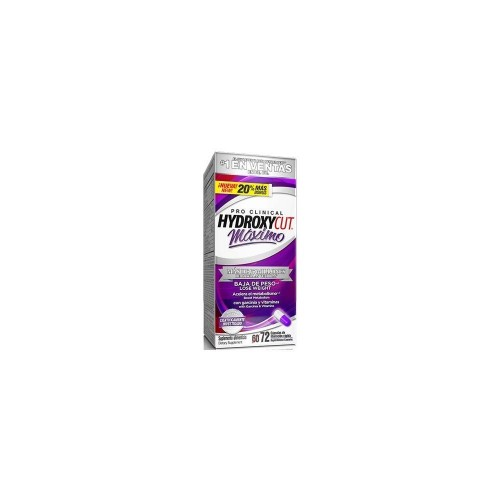HYDROXYCUT PRO CLINICAL MAXIMO 72 TAB