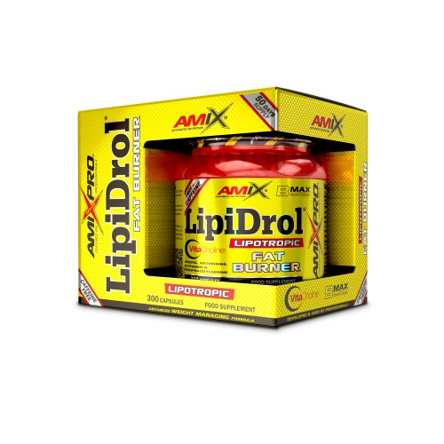 AMIX- LIPIDROL FAT BURNER 300 CAPS